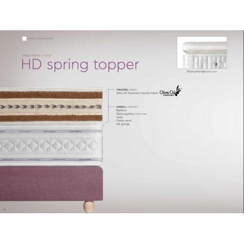Ανώστρωμα HD Spring Topper