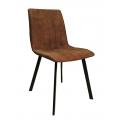 Καρέκλα Μεταλλική με Ύφασμα
