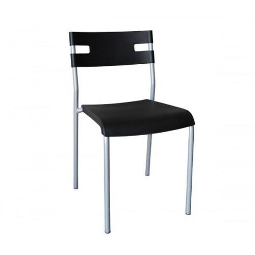 Καρέκλα PP Βαφή Silver