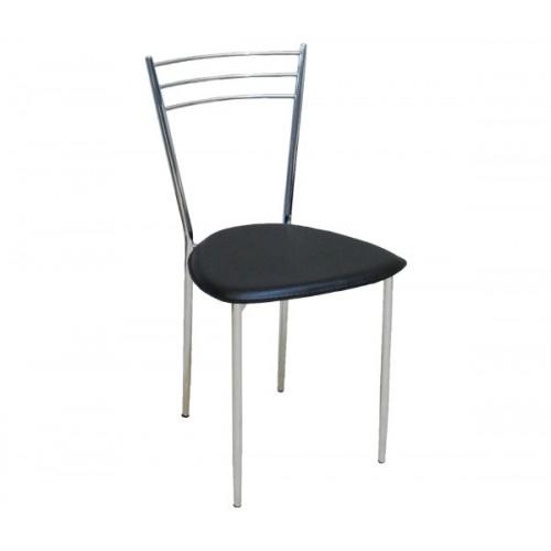 Καρέκλα μεταλλική με δερματίνη
