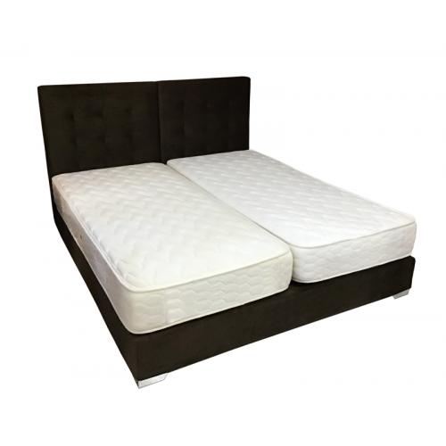 Κρεβάτι Ντυτό με Τσιμπήματα Υπέρδιπλο