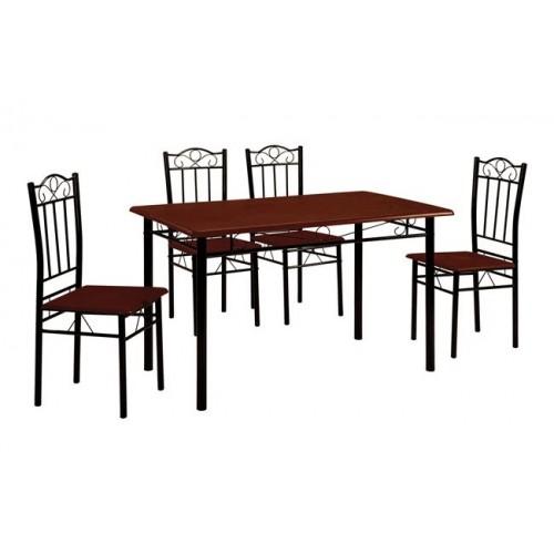 Σέτ Τραπέζι με 4 Καρέκλες
