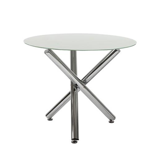 Τραπέζι Γυάλινο Στρογγυλό 90 εκ.